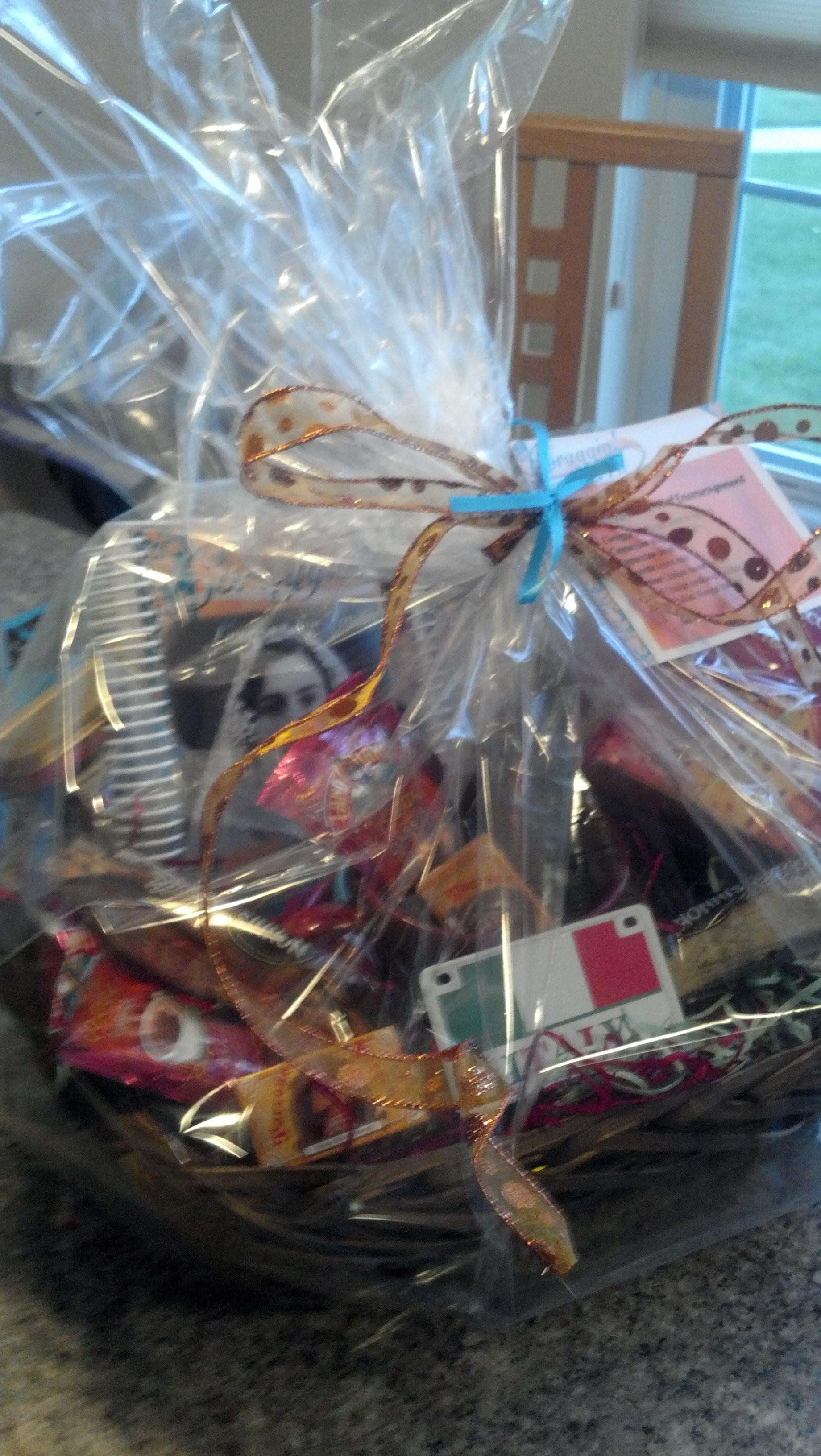 Coraggio Basket of Encouragement - Gift Basket