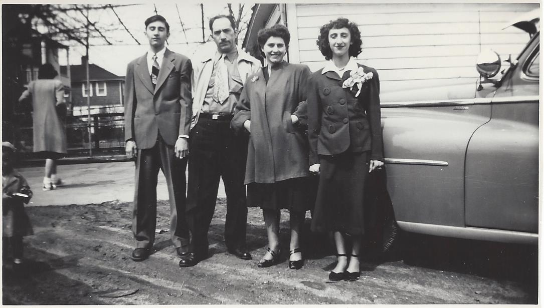 Dad/Pasquale, Grandpa Frank, Nonna Saveria, Aunt Connie